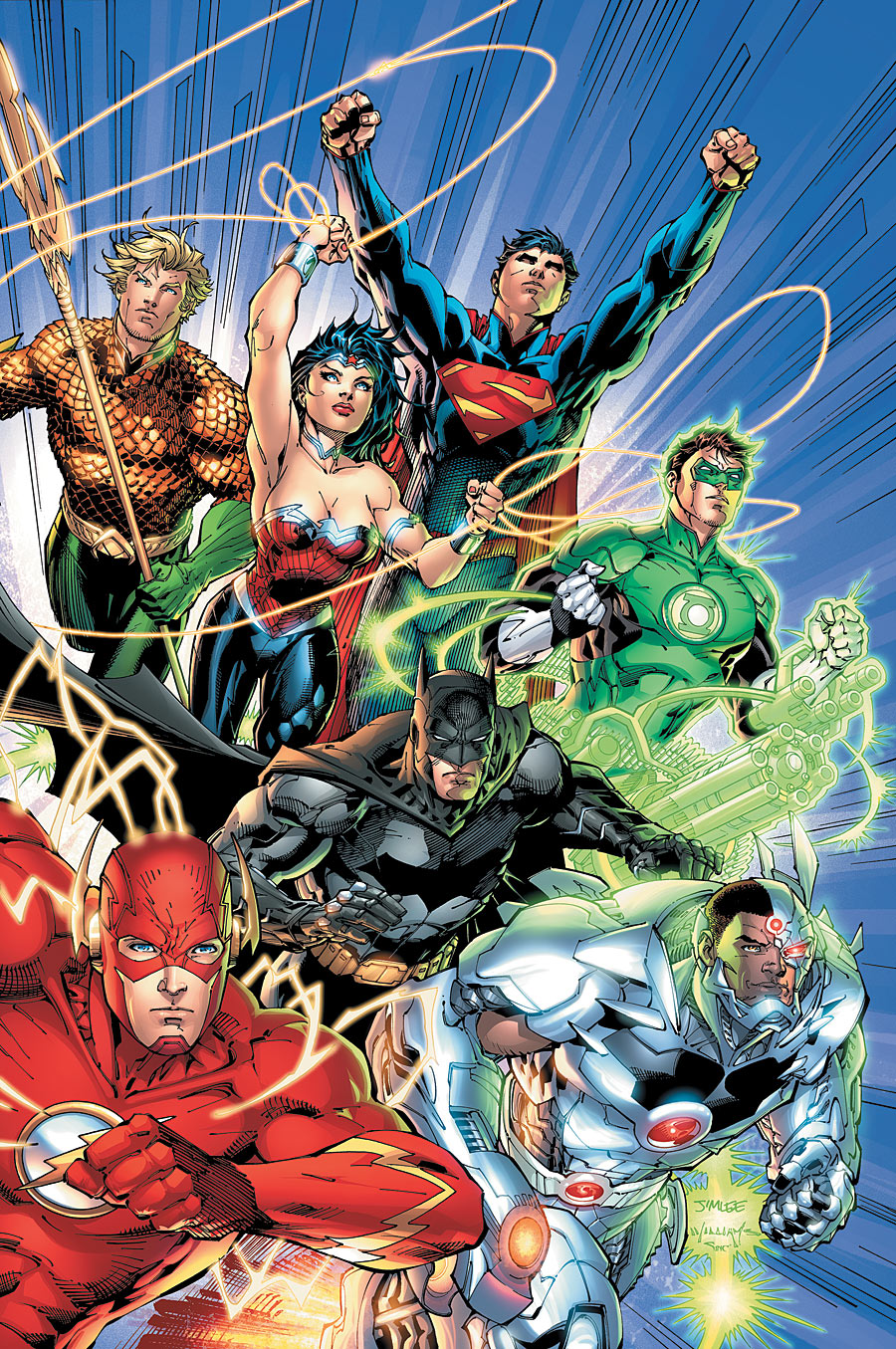 Justice League Origin