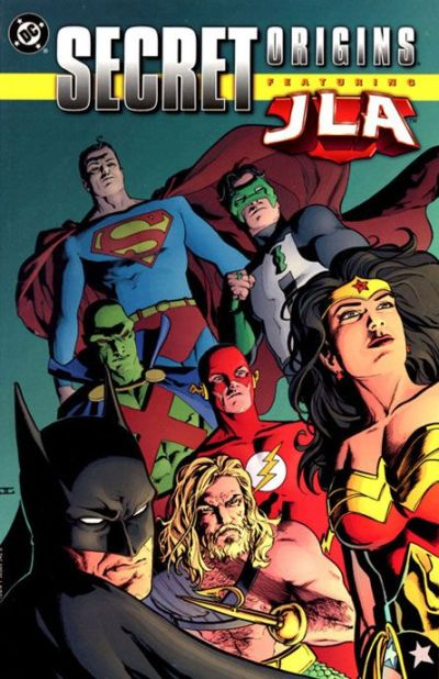 Secret Origins featuring the JLA!